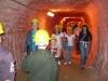 Przejście jednym z korytarzy Kopalni Soli w Kłodawie