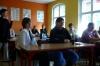 Uczestnicy kursu słuchaja prelekcji
