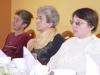 Trzy uczestniczki projektu słuchają prelekcji